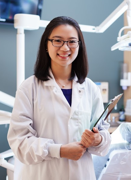 Dr. Kelly Kim, a dentist serving Plano, Frisco, and Allen TX.